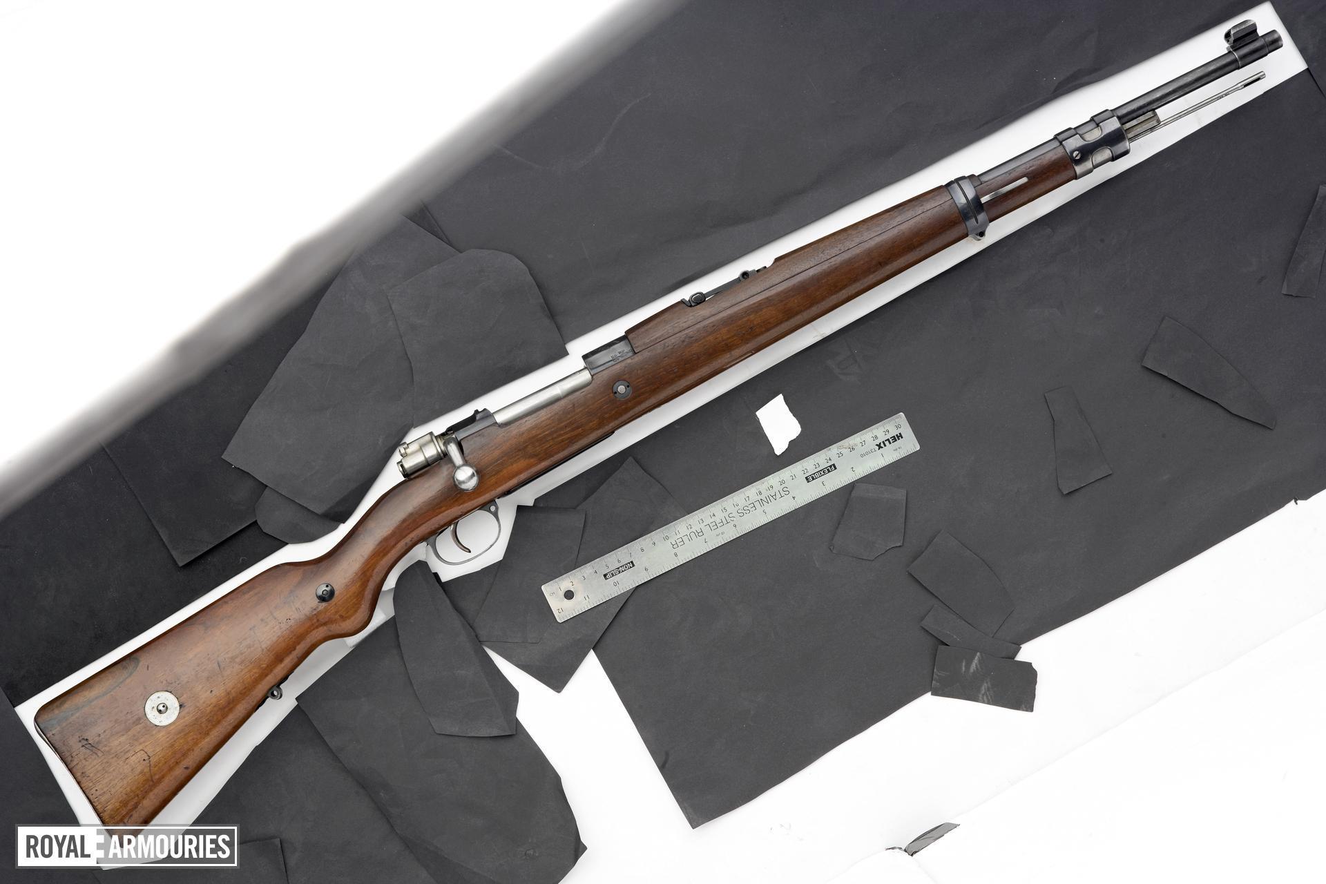 Centrefire self-loading rifle - Johnson Model 1941