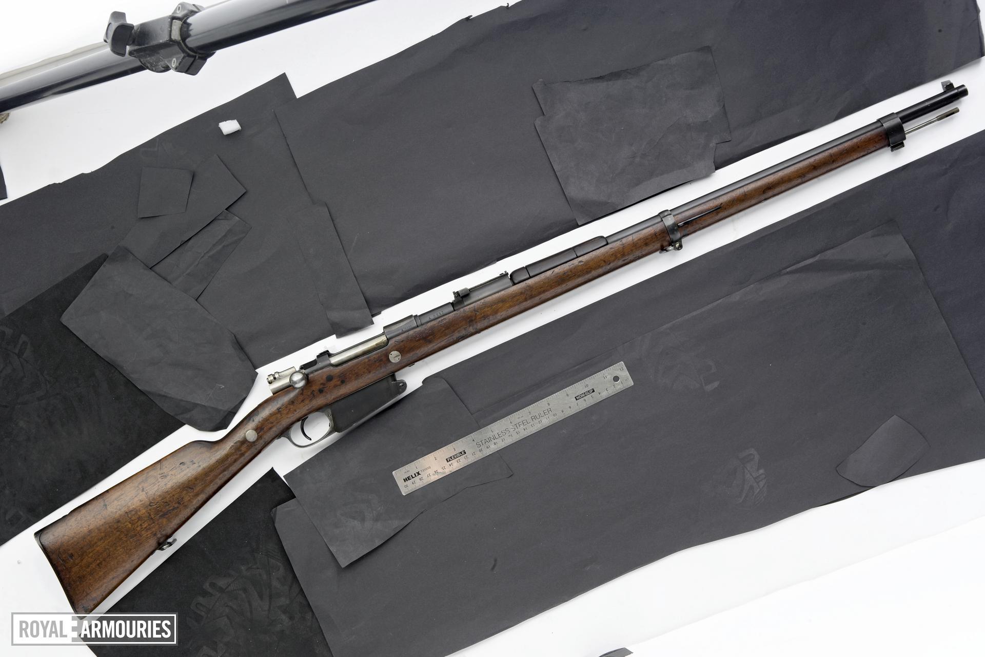 Centrefire bolt-action rifle - Mauser Model 1891