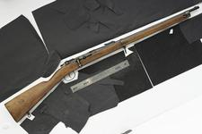 Thumbnail image of Centrefire bolt-action carbine - Daudeteau Mauser Conversion from 11 mm Model 1871 Mauser