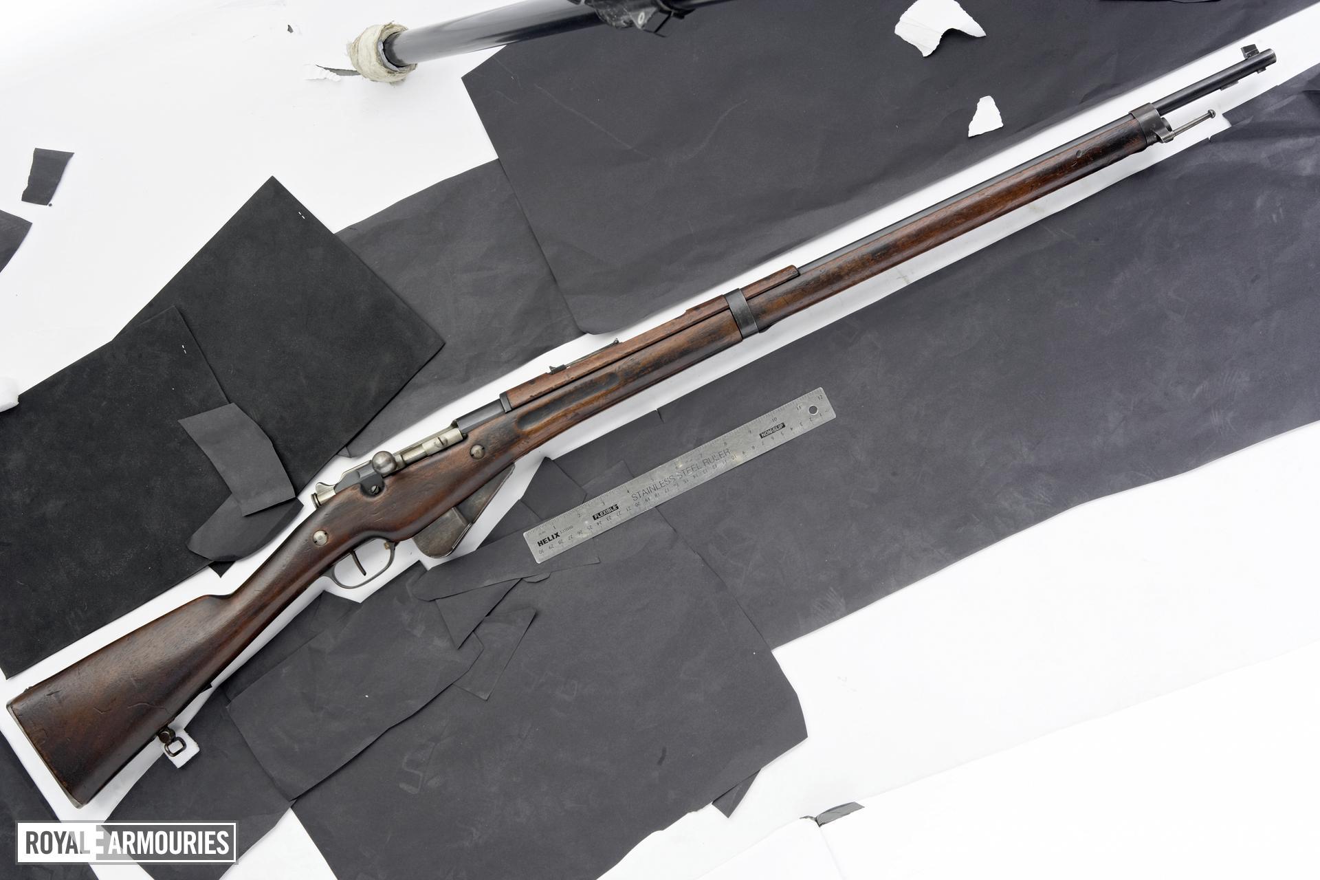 Centrefire bolt-action rifle - Mannlicher-Berthier Model 1916