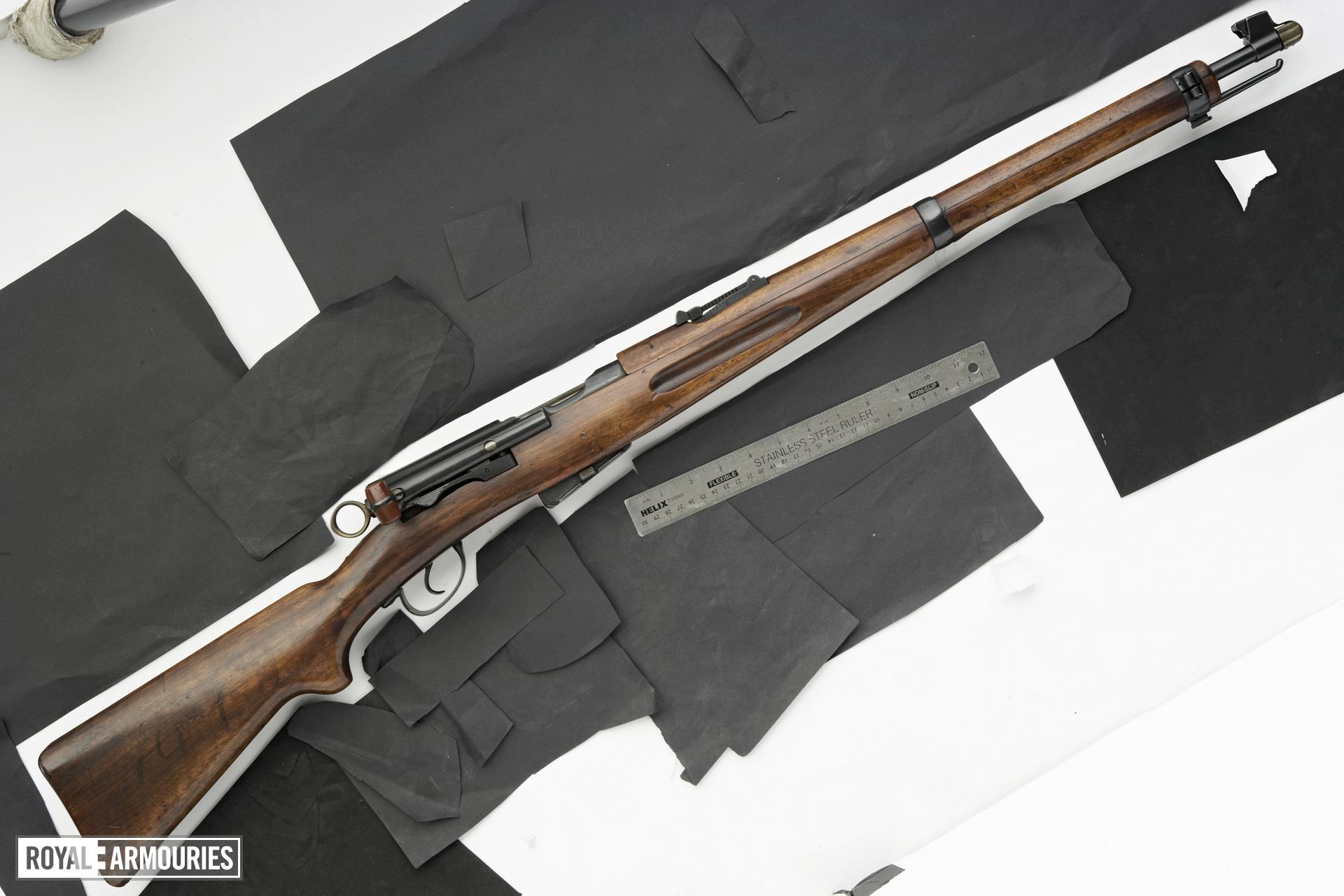 Centrefire bolt-action carbine - Schmidt-Rubin Model 1911