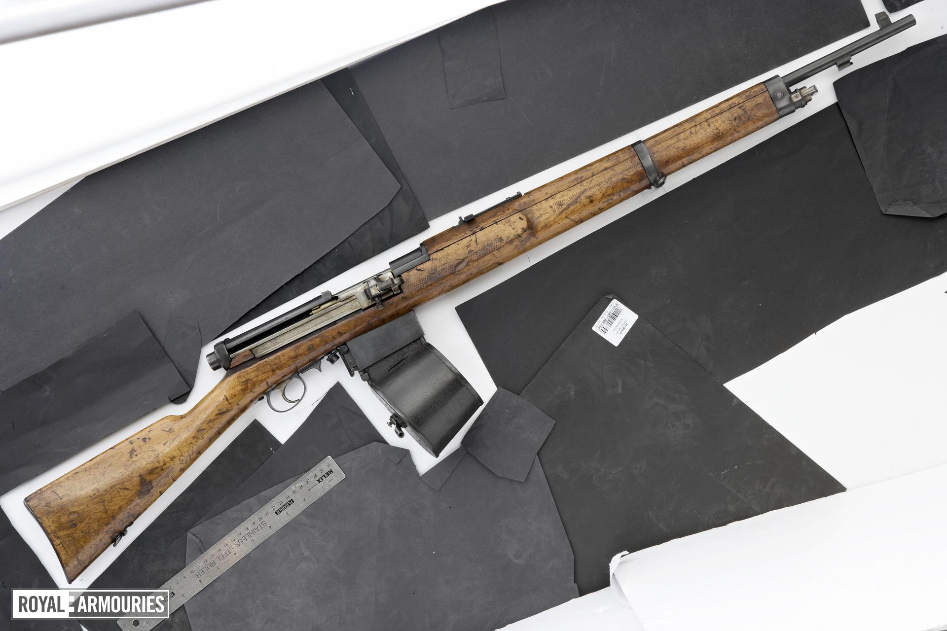 Centrefire self-loading rifle - FSK 15 Mondragon self-loading rifle