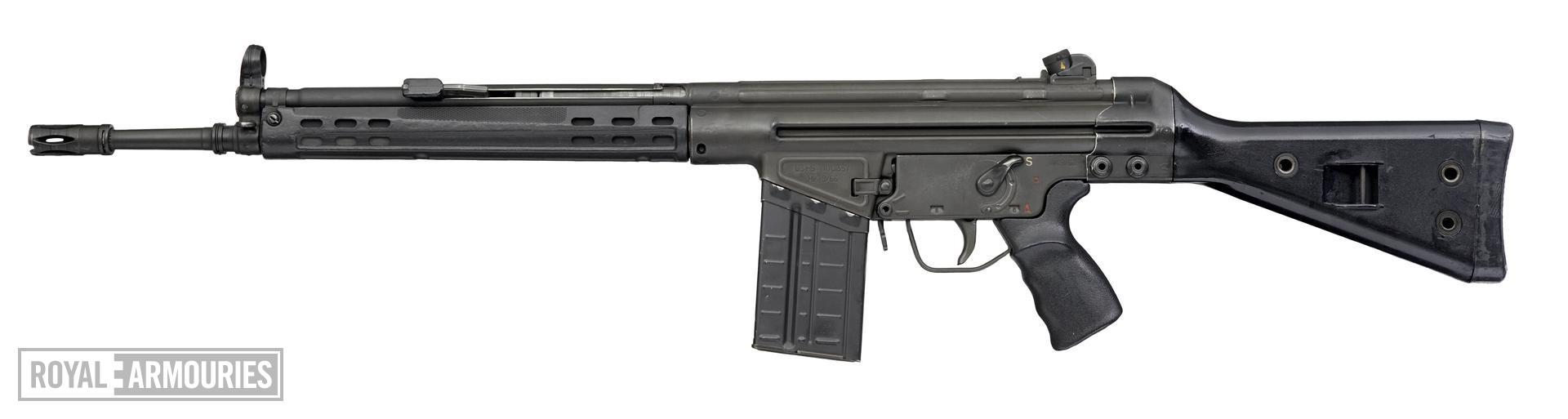 Centrefire automatic rifle - Heckler and Koch G3