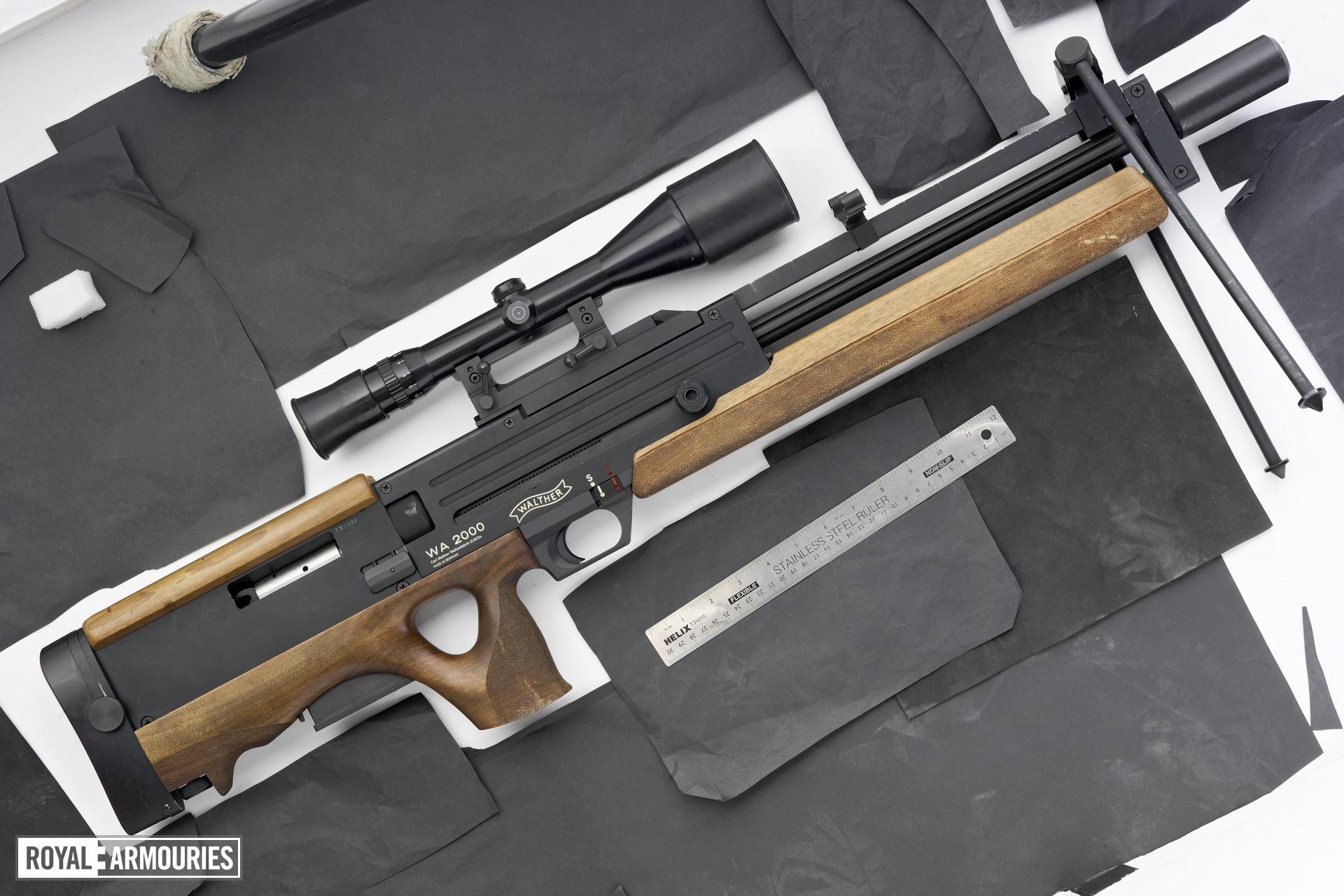 Centrefire self-loading sniper rifle - Walther WA2000
