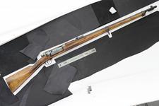 Thumbnail image of Centrefire bolt-action rifle - Experimental Krag-Jorgensen For trials