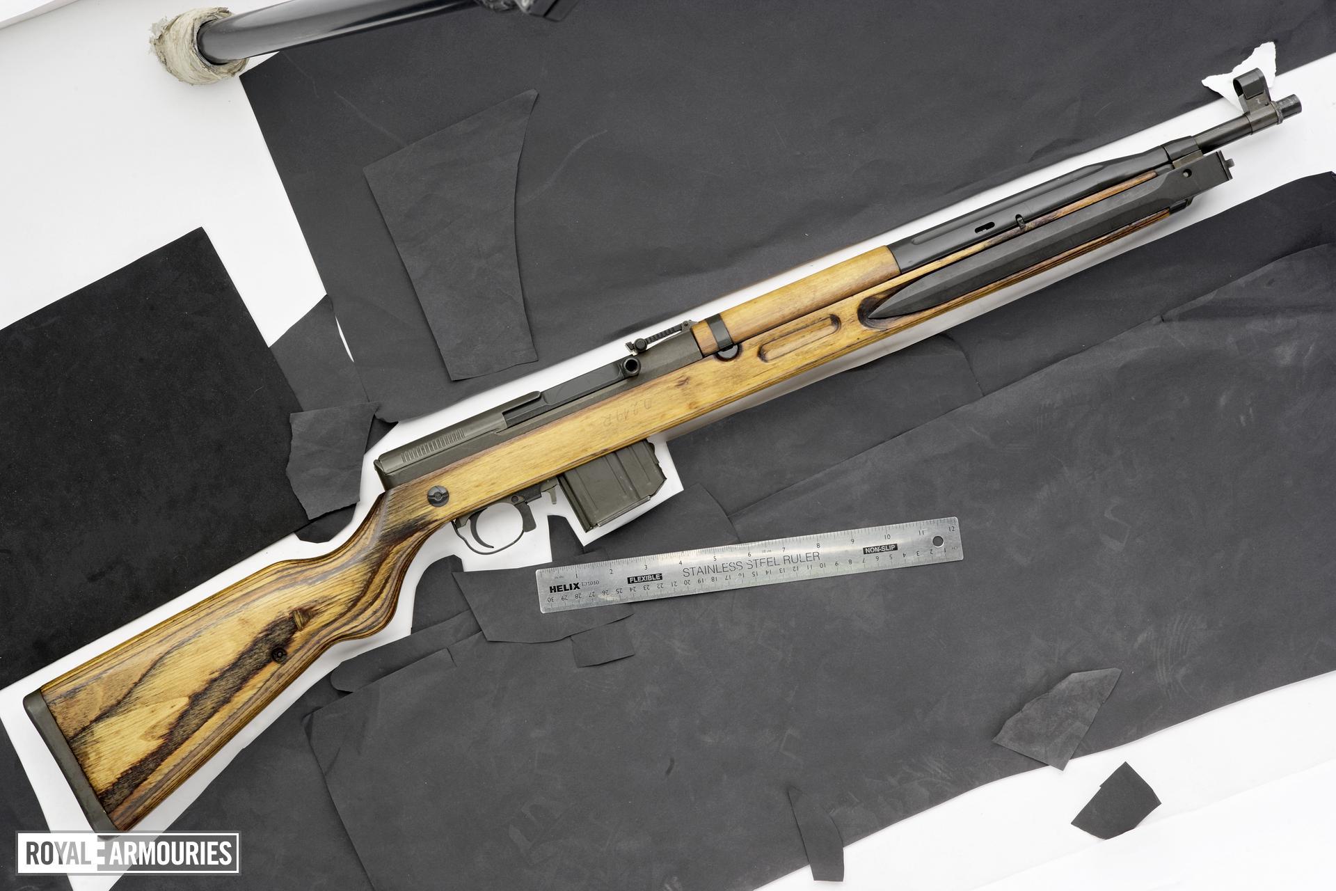 Centrefire self-loading rifle - VZ52