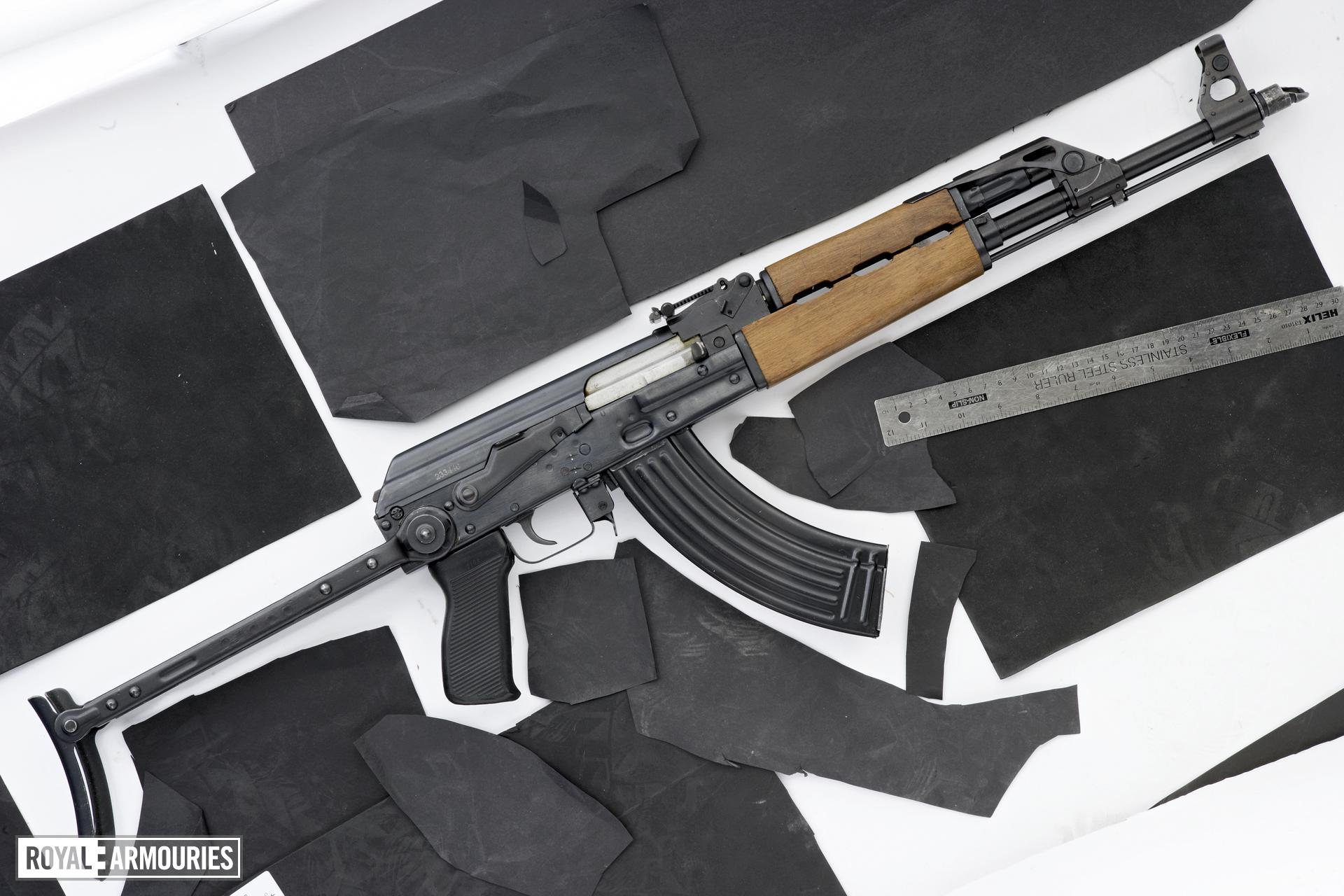 Centrefire automatic rifle - M70AB2 (Kalashnikov)