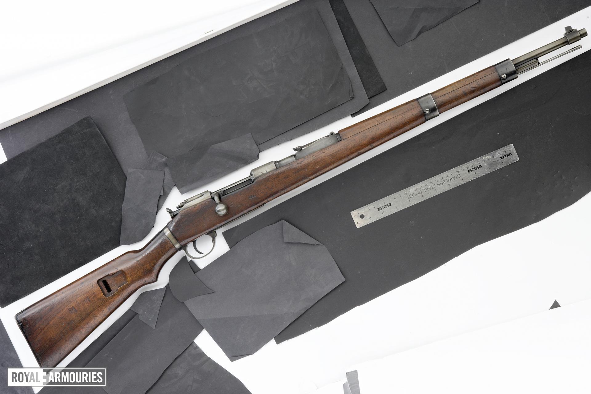 Centrefire bolt-action rifle - Mannlicher G98/40