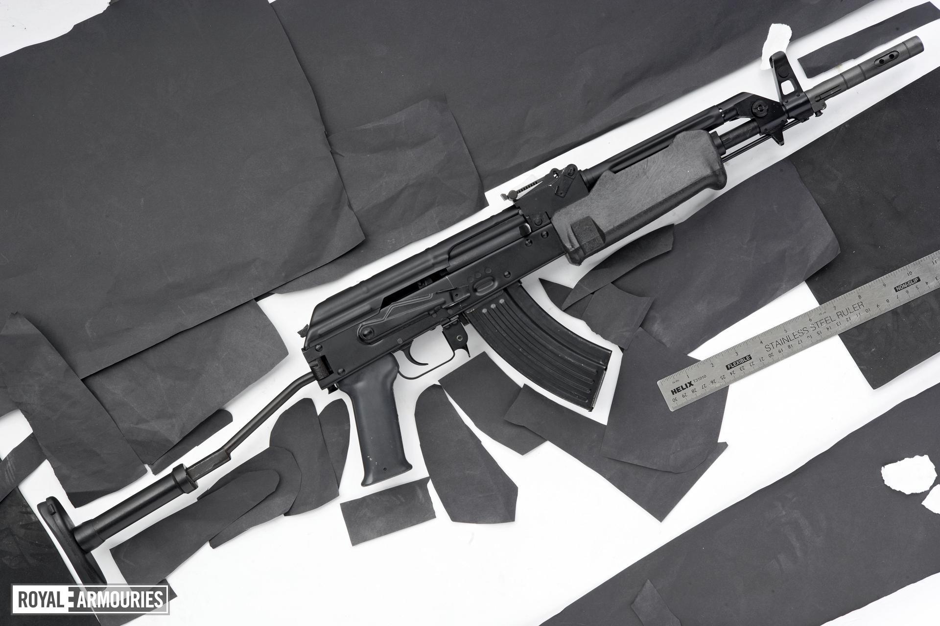 Centrefire automatic rifle - Kalashnikov AMP-69