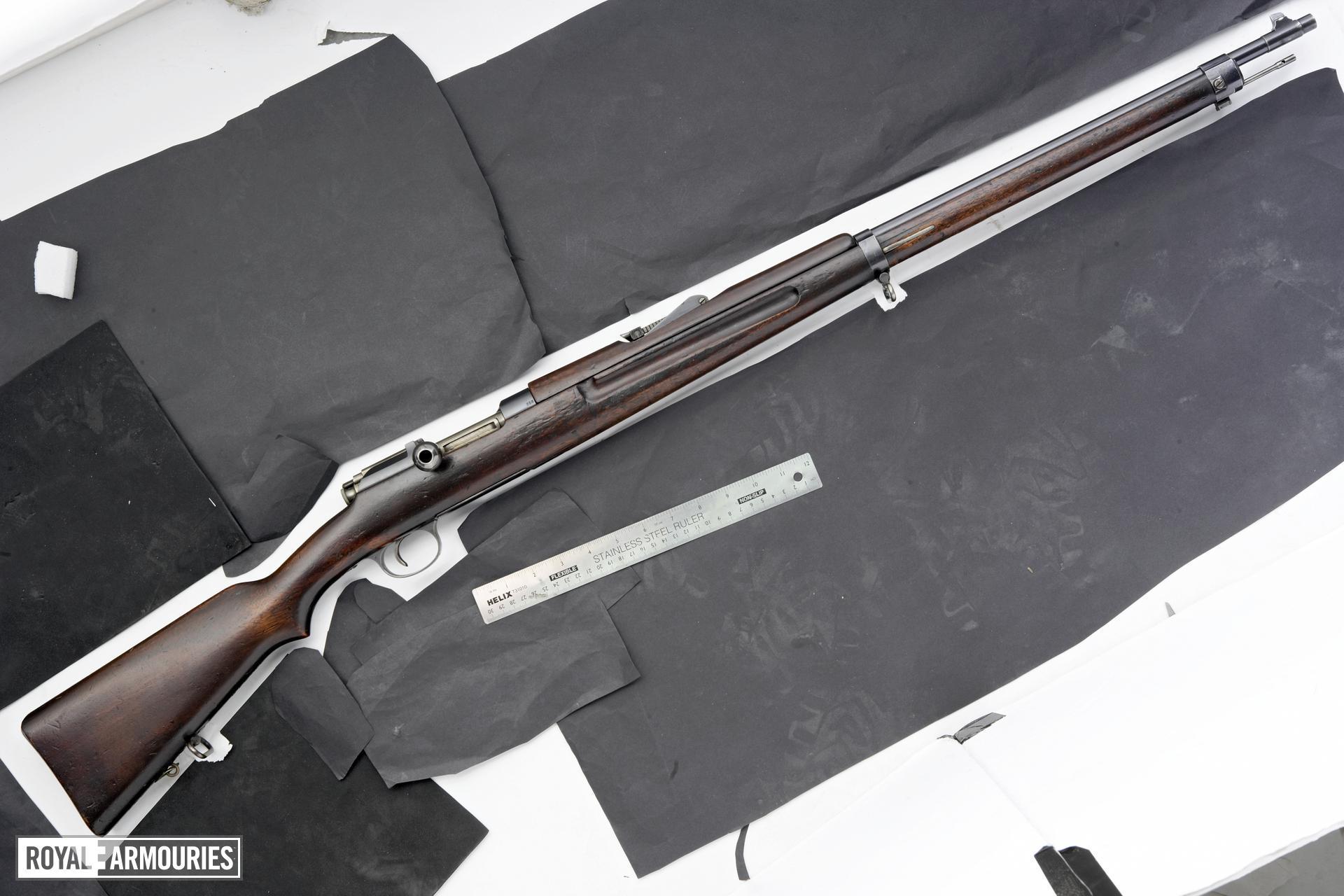 Centrefire bolt-action rifle - Mannlicher-Schonauer Model 1903