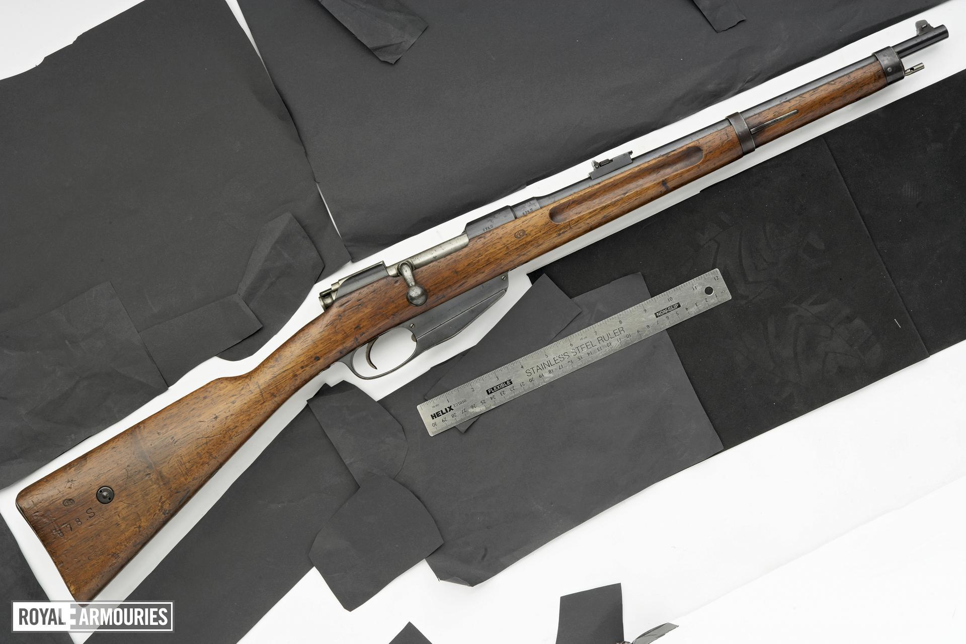 Centrefire bolt-action carbine - Mannlicher Model 1893