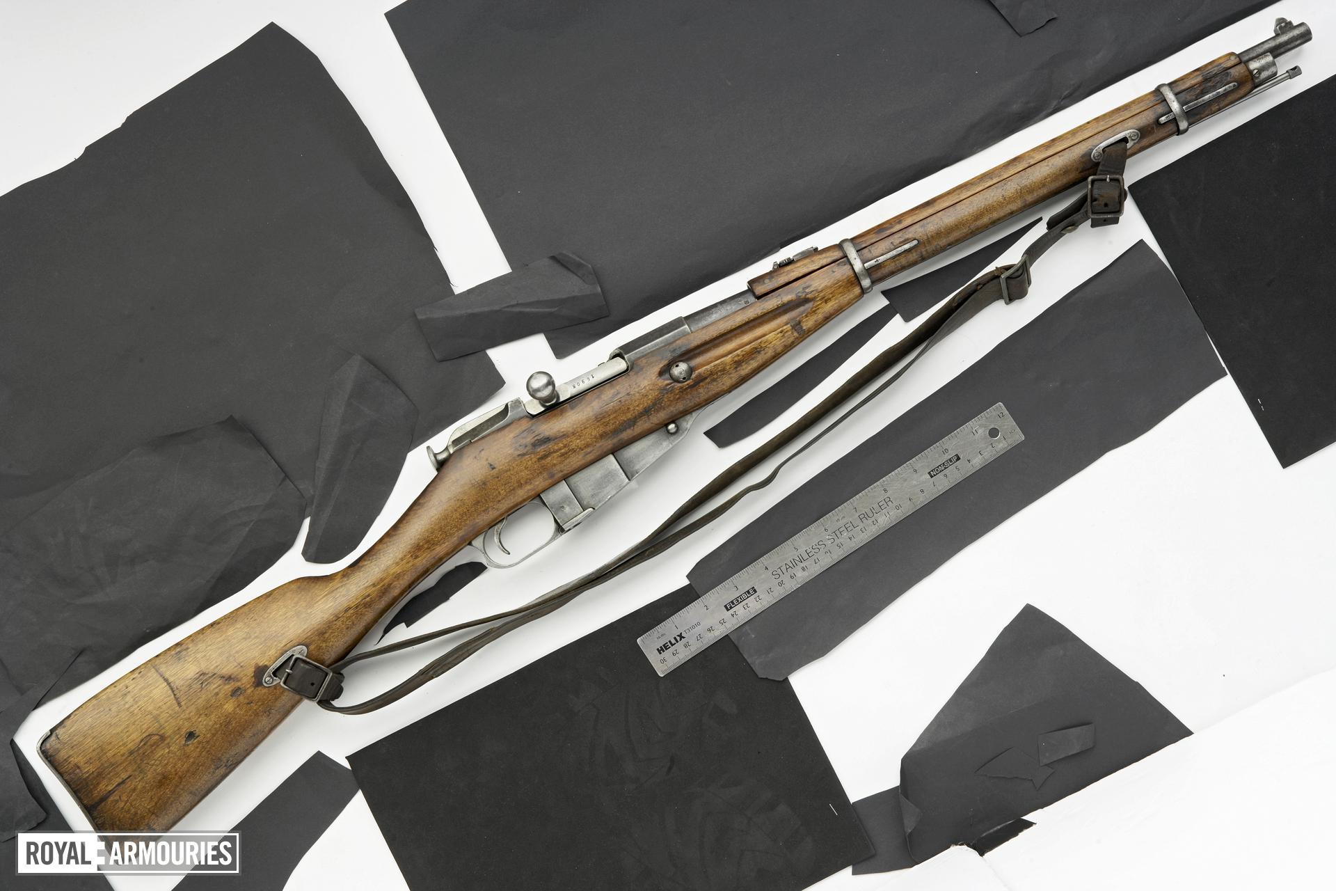 Centrefire bolt-action carbine - Mosin-Nagant Model 1907
