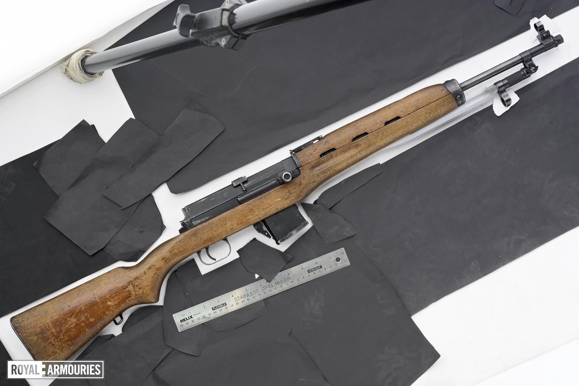 Centrefire self-loading rifle - Rasheed