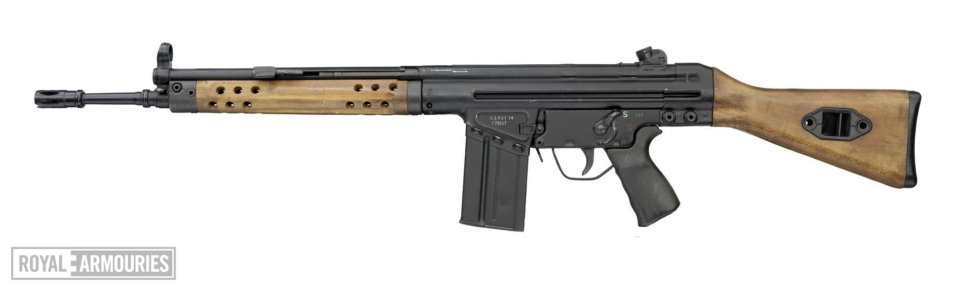 Centrefire automatic rifle - POF G3