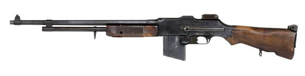 Thumbnail image of Centrefire automatic light machine gun - Browning Model 1918 A2 By Colt Firearms Co.
