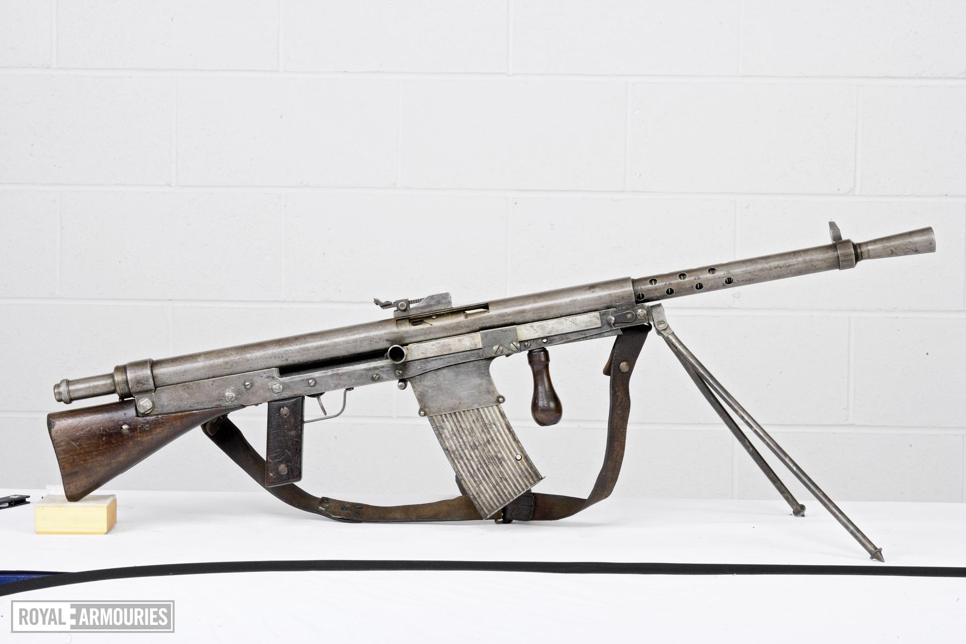Centrefire automatic light machine gun - Chauchat Model 1918
