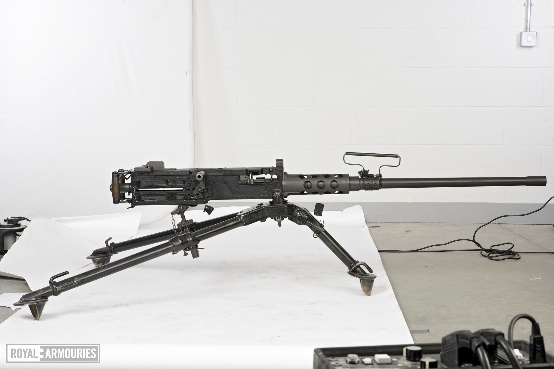 Centrefire automatic machine gun - Browning M2 HB
