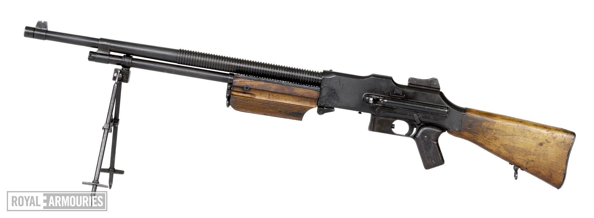 Centrefire automatic light machine gun - Browning Model 1925