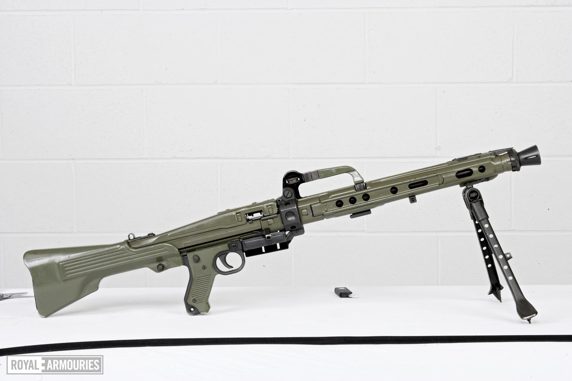 Centrefire automatic machine gun - CETME Ameli