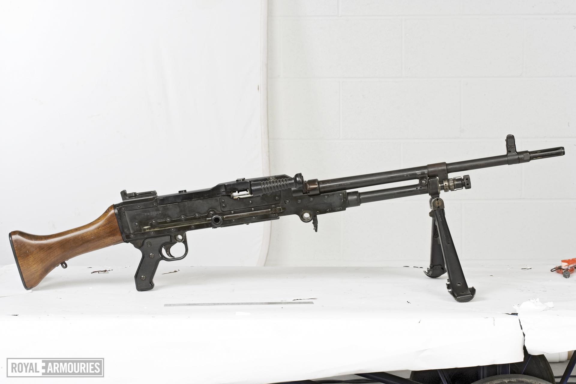 Centrefire automatic machine gun - GPMG FN L7A1