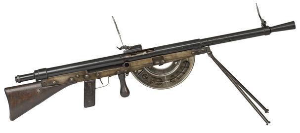 Centrefire automatic light machine gun