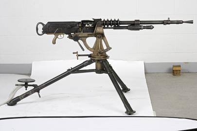 Centrefire automatic machine gun