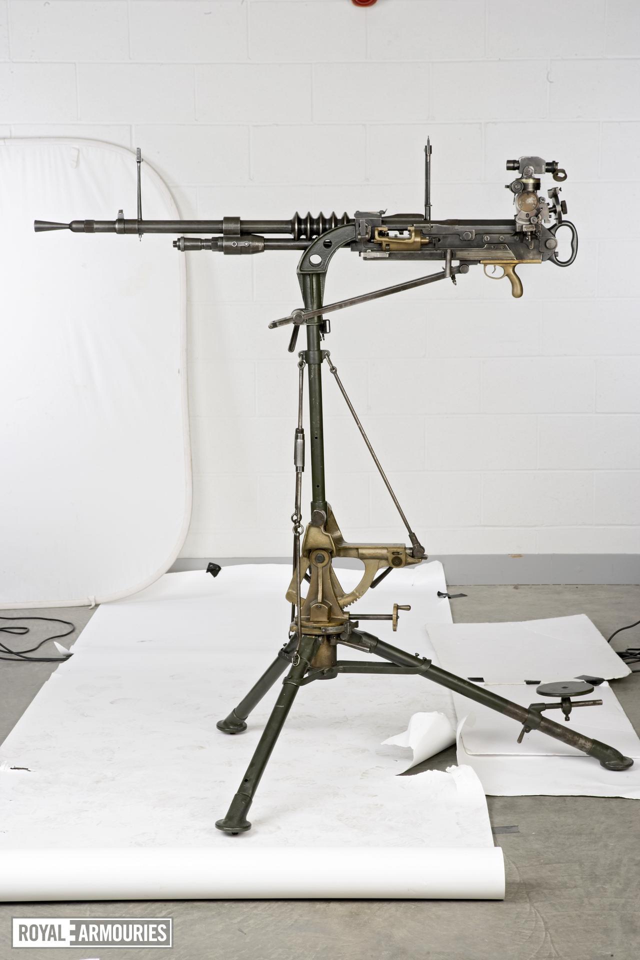 Hotchkiss gas operated machine gun, manufactured by FN, Lige, Belgium