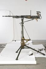 Thumbnail image of Hotchkiss gas operated machine gun, manufactured by FN, Lige, Belgium