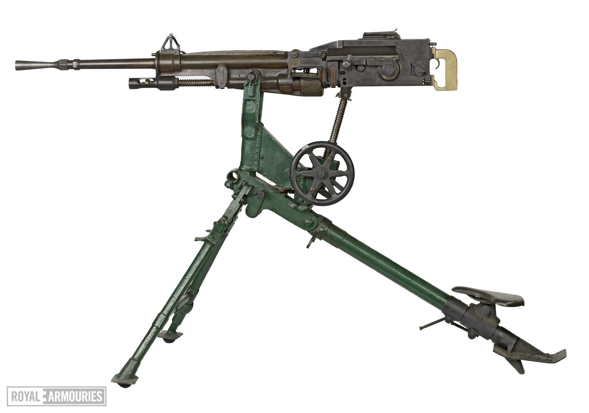 Centrefire automatic machine gun - St Etienne Model 1907