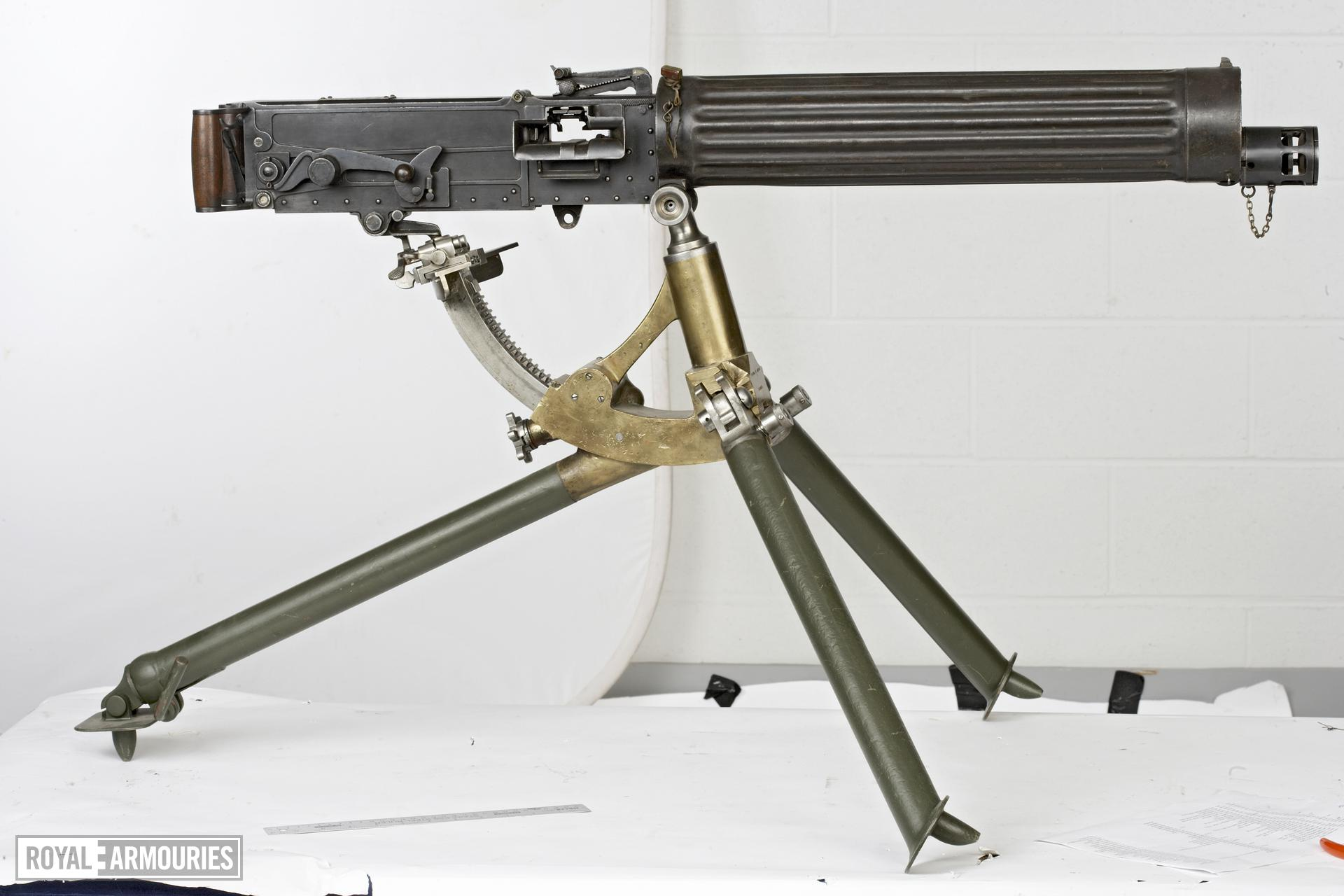 Centrefire automatic machine gun - Vickers Class C Italian model