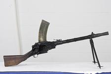 Thumbnail image of Centrefire automatic light machine gun - Madsen Model 1946