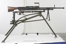 Thumbnail image of Centrefire automatic machine gun - Madsen Saetter