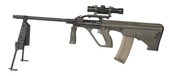 Thumbnail image of Centrefire automatic light machine gun - Steyr AUG-A1 LSW Light Support Weapon (LSW).