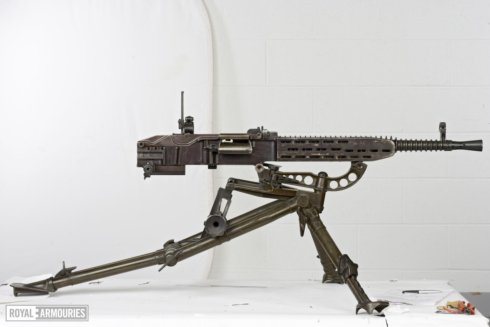 Centrefire automatic machine gun - ZB VZ37