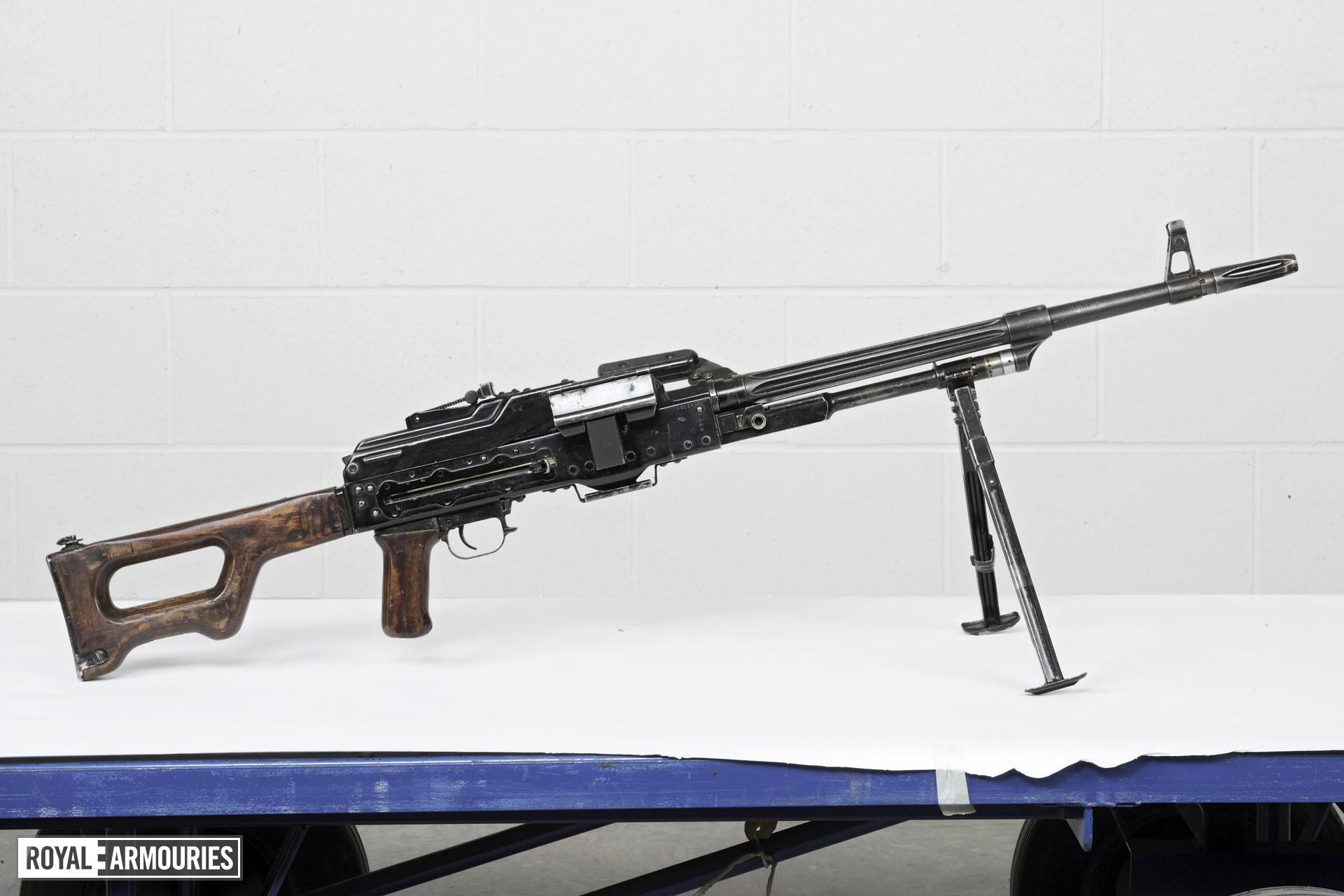 Centrefire automatic machine gun - Kalashnikov PK