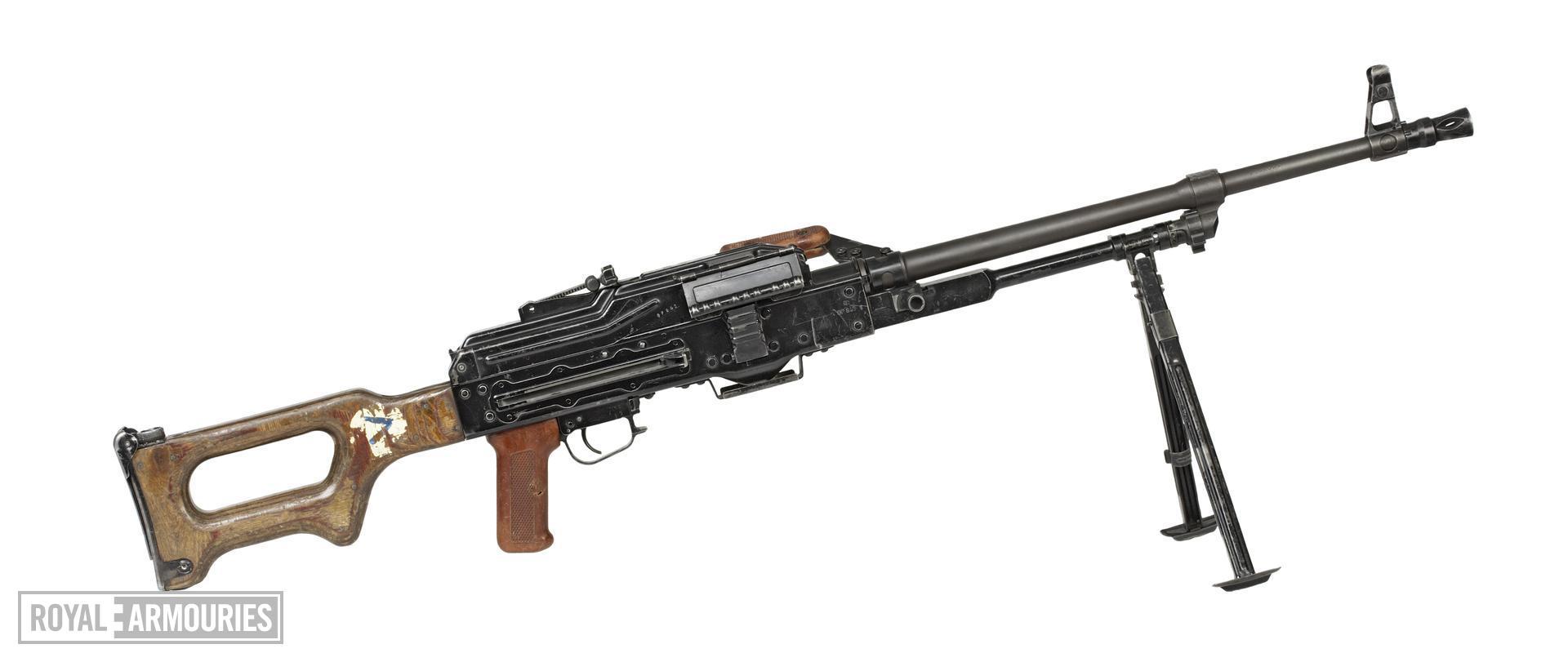 Centrefire automatic machine gun - Kalashnikov PKM