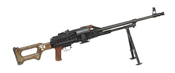 Thumbnail image of Centrefire automatic machine gun - Kalashnikov PKM