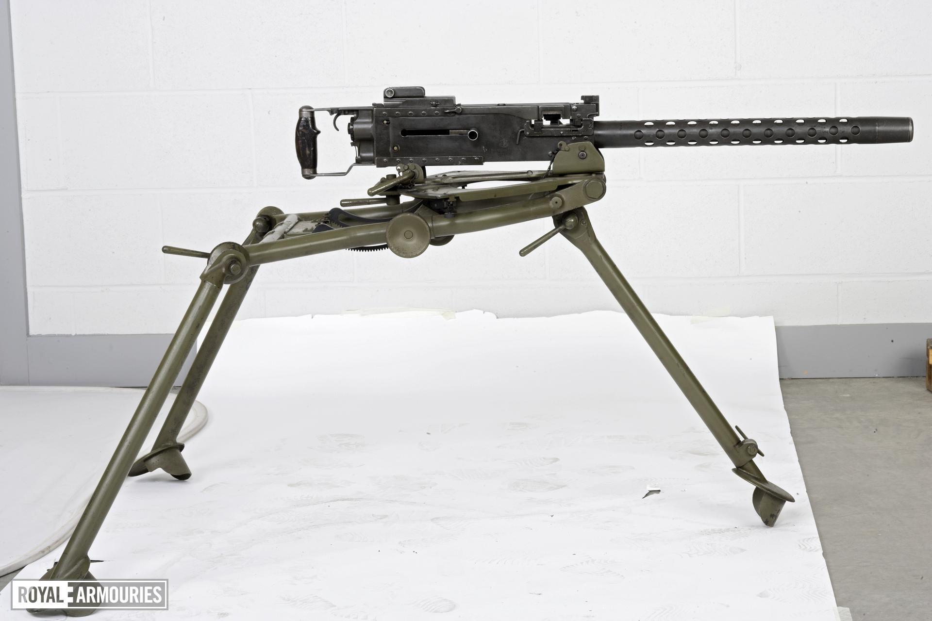 Centrefire automatic machine gun - Browning