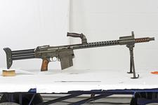Thumbnail image of Centrefire automatic light machine gun - Dror Model 2 Based on the Johnson M1944 LMG