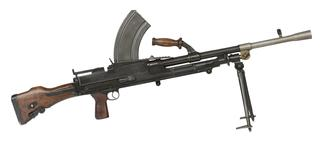 Thumbnail image of Centrefire automatic light machine gun - Bren Mk.I
