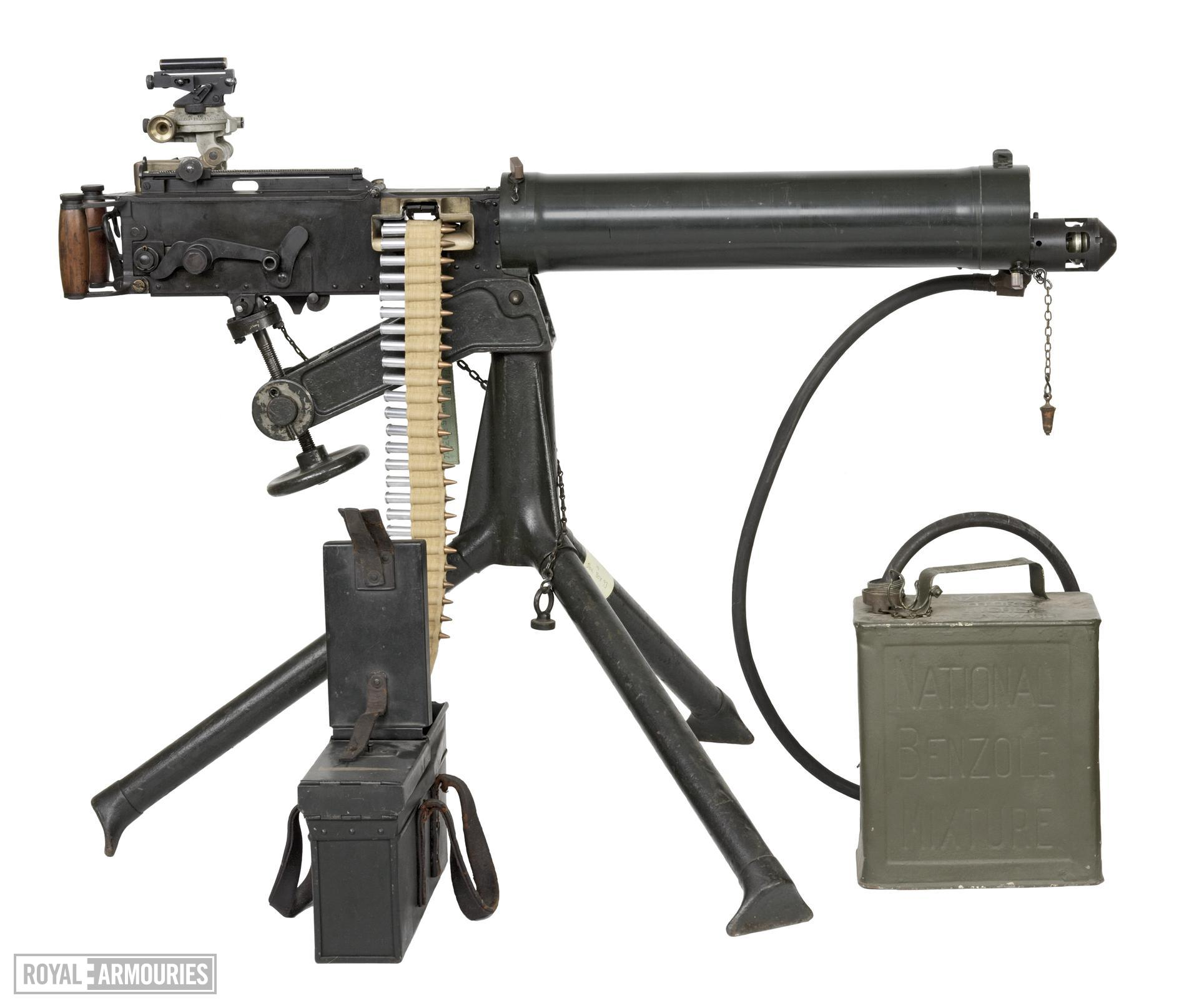Centrefire automatic machine gun - Vickers Mk.I Produced at Lithgow SAF.
