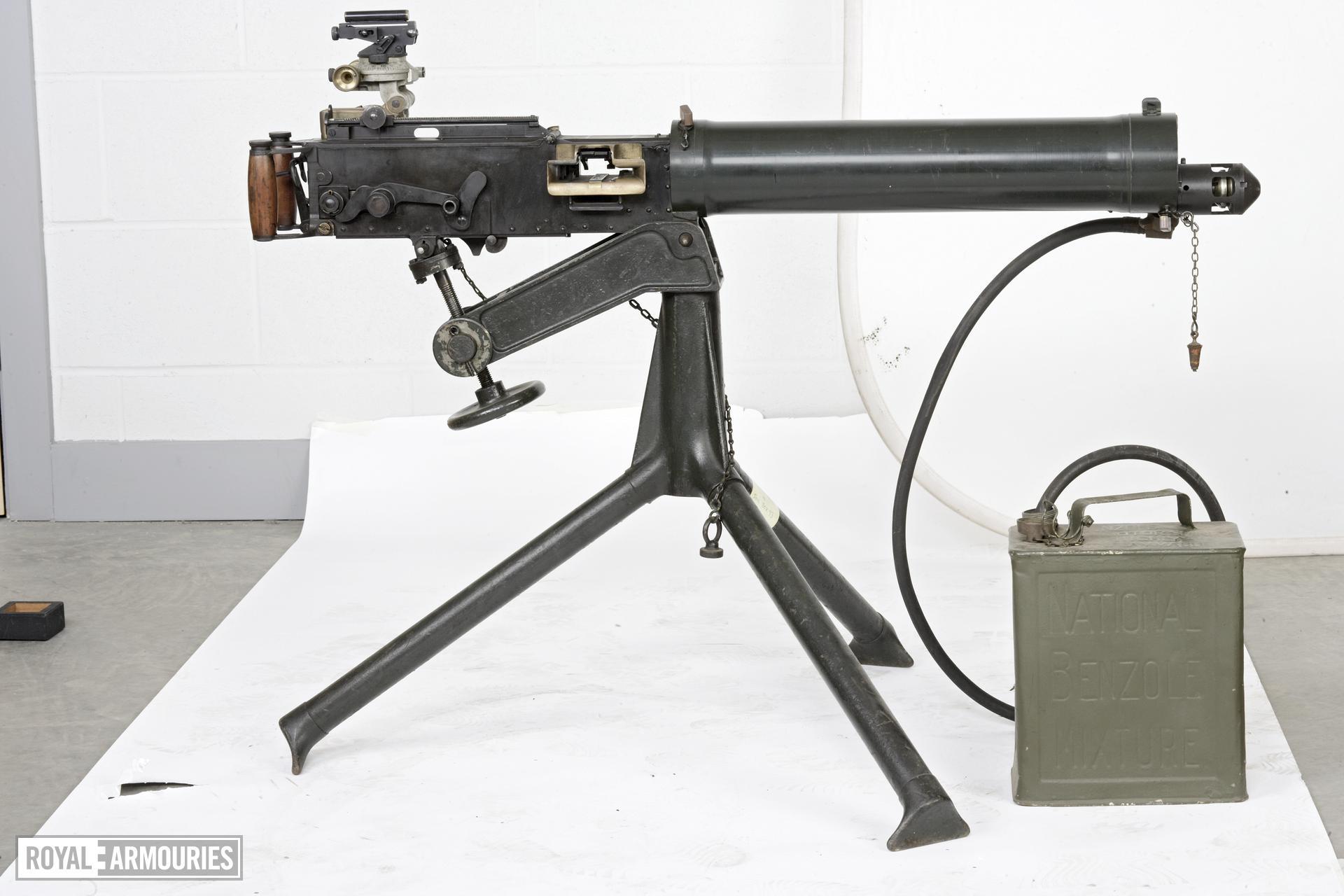 Centrefire automatic machine gun - Vickers Mk.I