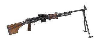 Thumbnail image of Centrefire automatic light machine gun - Degtyarev Type 62 (RPD)