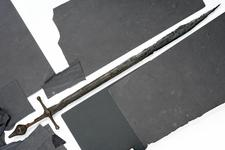 Thumbnail image of Sword Cross-hilted sword, with falchion-like blade
