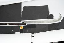 Thumbnail image of War scythe Scythe blade mounted on haft