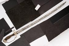 Thumbnail image of Hanger and scabbard Hanger and scabbard
