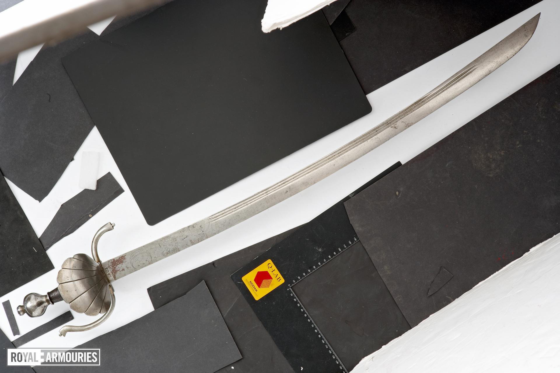 Sword Back edge sword