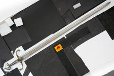 Thumbnail image of Sword with counter-curved quillons.