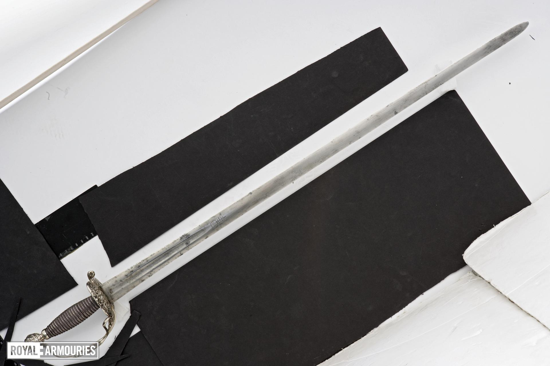 Sword and scabbard Sword and scabbard