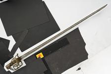 Thumbnail image of Sword Brass 'garde de bataille' hilted cavalry sword, model 1784.